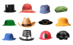 Chapéus Fotos de Stock Royalty Free
