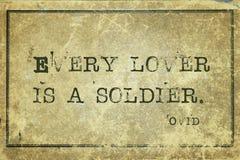 Chaque amant Ovid Image libre de droits