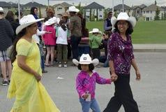 Chaque culture apprécie la ruée de Calgary Photo libre de droits
