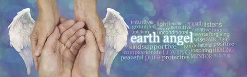 Chaque soignant est un ange de la terre photographie stock libre de droits