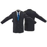 Chaqueta para hombre del traje en el ejemplo blanco 3D Fotografía de archivo libre de regalías