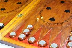 chaquete Backgammon hecho a mano Imagenes de archivo