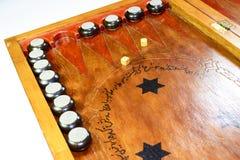 chaquete Backgammon hecho a mano Foto de archivo