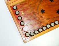 chaquete Backgammon hecho a mano Imágenes de archivo libres de regalías