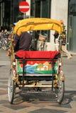 Char actionné par homme dans Copenhague Images libres de droits