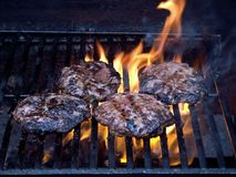 Char-broiled Stock Photography