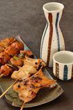 Char-broiled chicken yakitori Stock Photography