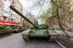 Char de bataille T-72 photo stock