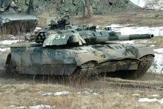 Char de bataille ukrainien T-84 Oplot Images libres de droits