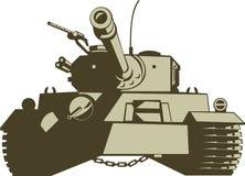 char de combat Photographie stock