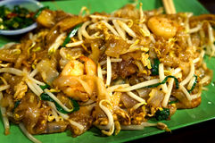 Char Kuey teow. Fried rice noodle Char Kuey teow royalty free stock photography