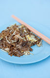 Char kway teow. An Asian dish in Penang malaysia stock photography