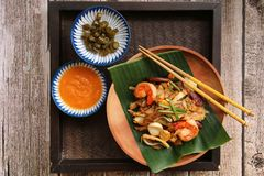 Char Kway Teow Royalty Free Stock Images