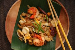 Char Kway Teow Royalty Free Stock Photography