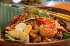 Char Kway Teow Royalty Free Stock Photo