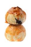 Char Siu Bun and Salted Egg Bun Royalty Free Stock Photo