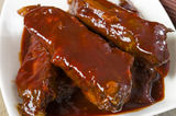 Chinese Sticky Pork Spare Ribs royalty free stock images