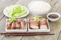 Free Char Siu Pork & Peking Duck Royalty Free Stock Image - 35785456