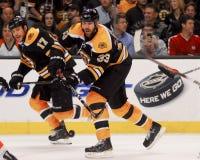 Chara de Zdeno de la defensa de los Boston Bruins Imagen de archivo