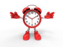 Character alarm clock Stock Photos