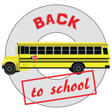 Character back to school Stock Image