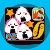 Character Bento Royalty Free Stock Images