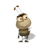 Funny bug cartoon Royalty Free Stock Photography