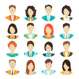 Character cartoon of office worker business personnel. Stock Photos