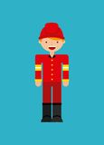Character concept design. Illustration eps10 graphic Royalty Free Stock Image