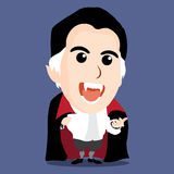 Character of Count Dracula Stock Photo