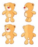 Character cute cartoon bear for a computer game Royalty Free Stock Photos