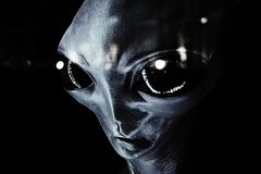 UFO - Alien royalty free stock photography
