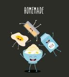 Character food design Stock Photo