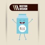 Character food design Stock Photos