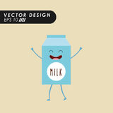 Character food design Stock Images