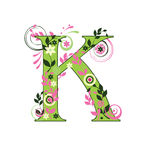 Character K Stock Images