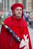 Character of the Maritime Republics Historical Parade Royalty Free Stock Photos