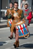 Character of the Maritime Republics Historical Parade Royalty Free Stock Photography