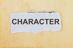 Character Royalty Free Stock Photos