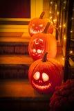 Character Pumpkin Carving royalty free stock photos