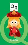 Character Q Cartoons Stock Photo
