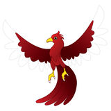 Character red bird royalty free illustration