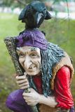 Baba Yaga. Character of Russian fairy tales Baba Yaga Royalty Free Stock Photo