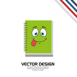 Character School Supply design Stock Photos