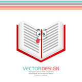 Character School Supply design Royalty Free Stock Photography