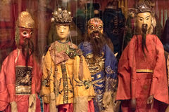 The Character Shapes of Marionettes in Xiamen Museum Stock Photography