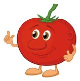 Character tomato Royalty Free Stock Image