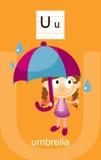 Character U Cartoons Stock Image