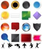Character Variety Set Stock Image