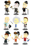 Character Vector Collection Royalty Free Stock Photos
